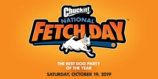Chuckit!® National Fetch Day Official New Jersey Party Partner
