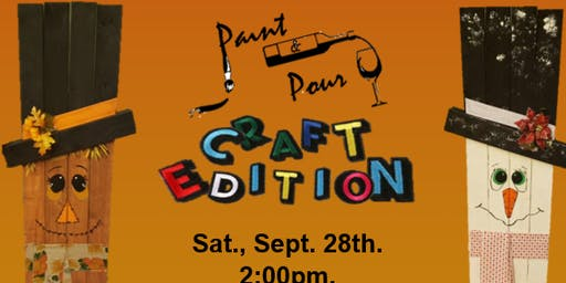 Paint and Pour: Craft Edition!!