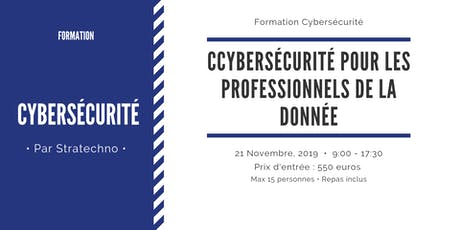 Cybersécurité pour les professionnels de la donnée billets