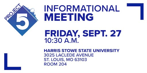 Project 5 informational meeting
