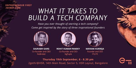 What it takes to build a tech company in India: NoBroker, SigTuple, ITILITE tickets
