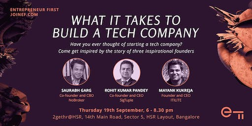 What it takes to build a tech company in India: NoBroker, SigTuple, ITILITE
