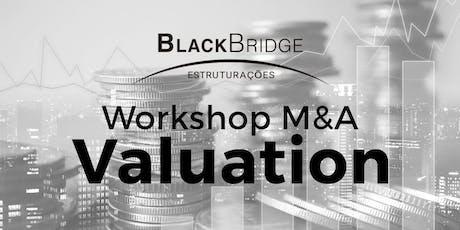 Os Segredos do M&A - Valuation ingressos