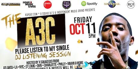 A3C DJ LISTENING SESSION tickets