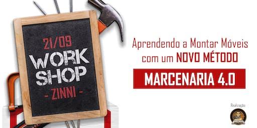 """Workshop Presencial """"Novo Método de Montar Móveis"""" com Zinni Gabaritos"""