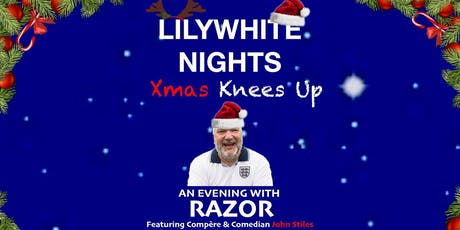 Christmas Knees Up With Razor Ruddock tickets
