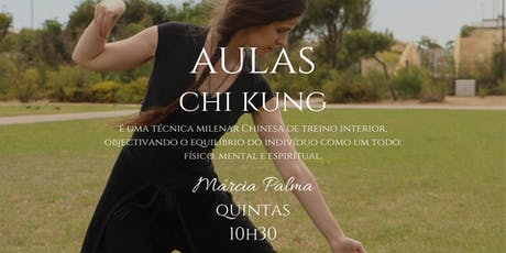 Aulas de chi kung bilhetes