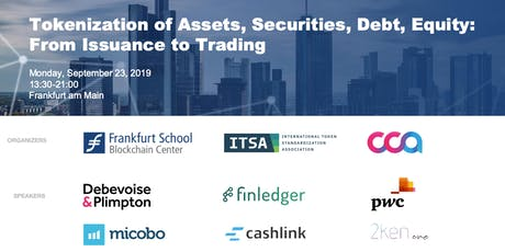 Tokenization of Assets, Securities, Debt, Equity: From Issuance to Trading Tickets