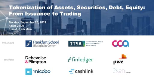 Tokenization of Assets, Securities, Debt, Equity: From Issuance to Trading