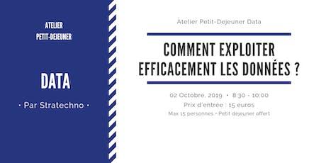 Atelier petit Déjeuner Data 2 Oct 2019 billets