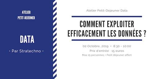 Atelier petit Déjeuner Data 2 Oct 2019