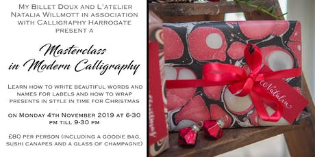 Masterclass in Modern Calligraphy tickets