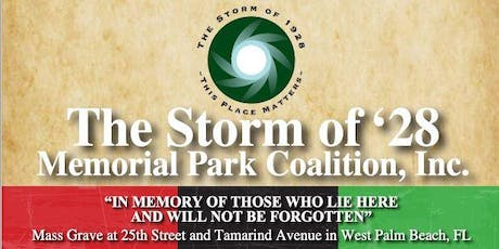 The Storm of '28 - 91st Anniversary Memorial Event  tickets