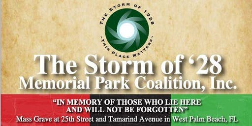 The Storm of '28 - 91st Anniversary Memorial Event