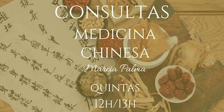 Consultas Medicina Chinesa bilhetes