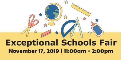 The 2019 Exceptional Schools Fair
