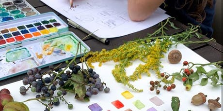 Kids Nature Walk with Watercolor tickets