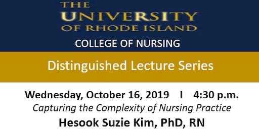 CON Distinguished Lecture Series w/ Hesook Suzie Kim, Phd, RN