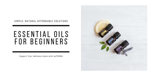 Essential Oils for Beginners - Make & Take