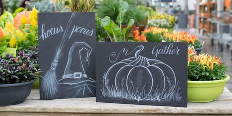 Fall Chalk Art tickets