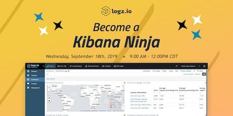 Become a Kibana Ninja - Webinar  tickets