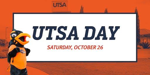 Fall 2019 UTSA Day - October 26