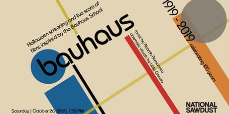 Bauhaus Halloween Party presented by Little Cinema and Ricardo Romaneiro tickets