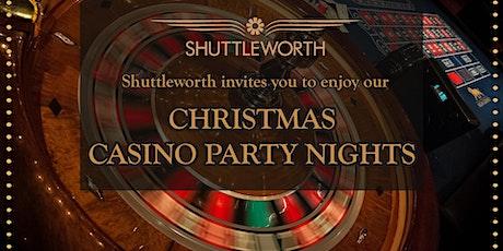Christmas Casino Party Night tickets