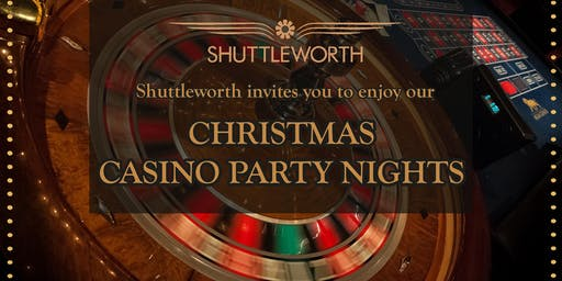 Christmas Casino Party Night