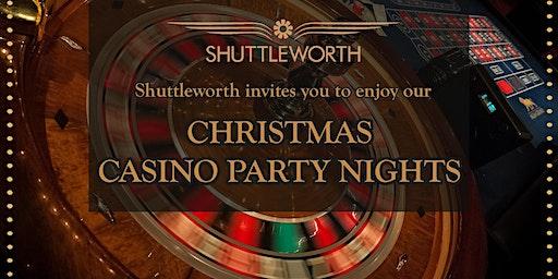 Christmas Casino Party Night