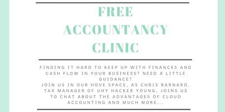 Free Accountancy Clinic tickets