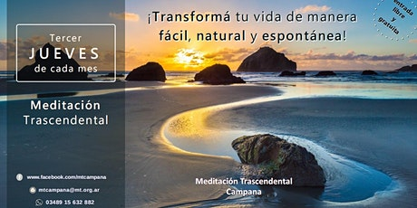 Campana Jueves 19:00 horas - Charla Informativa sobre Meditación Trascendental entradas