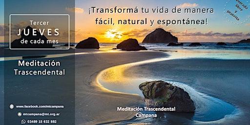 Campana Jueves 19:00 horas - Charla Informativa sobre Meditación Trascendental