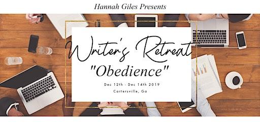 "Writer's Retreat ""Obedience"""