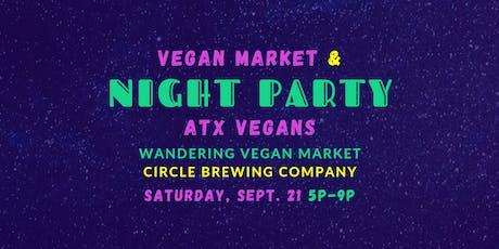 Vegan Market & Night Party tickets