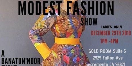 BANATUN'NOOR  MODEST FASHION SHOW tickets
