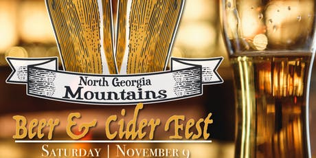 North Georgia Mountains Beer & Cider Fest 2019 tickets