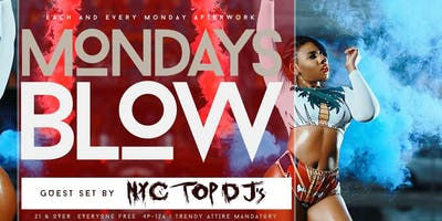 #MondaysBlow at Lavoo Lounge | Happy Hour and Monday Night Football | #LBN