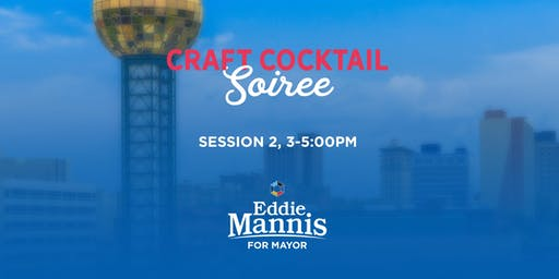 Craft Cocktail Soiree w/Celebrated Mixologist Shannon & Chef Ricky Mungaray