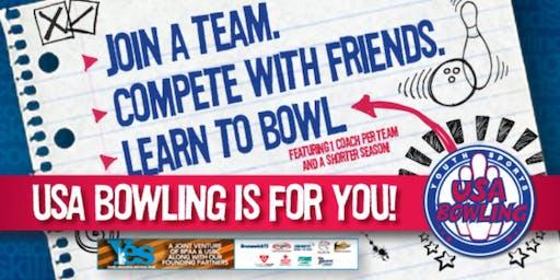 USA Youth Bowling League - (Beginners Welcome) - (Mesa, Chandler, Phoenix area)