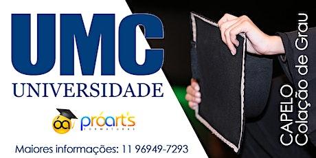 CAPELO UMC - 22/01/20 - Campus Villa Lobos ingressos