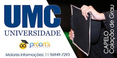 CAPELO UMC - 23/01/20 - Campus Villa Lobos ingressos