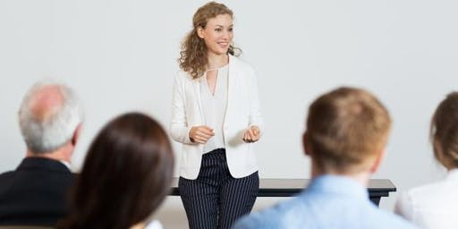 Public Speaking Workshop (Beginners)