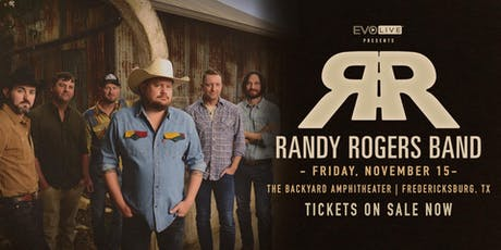 Randy Rogers Band in Fredericksburg tickets