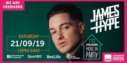 The Official Move In Party with JAMES HYPE