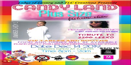 The Candy Land  Fashion Show tickets
