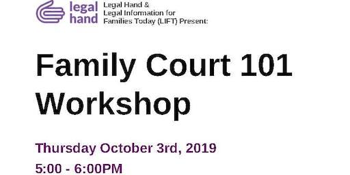 Family Court 101 Workshop
