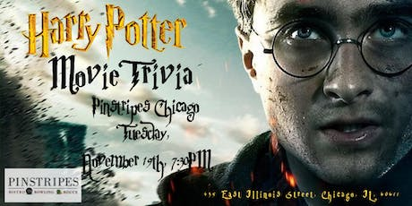 Harry Potter Movie Trivia at Pinstripes Chicago tickets