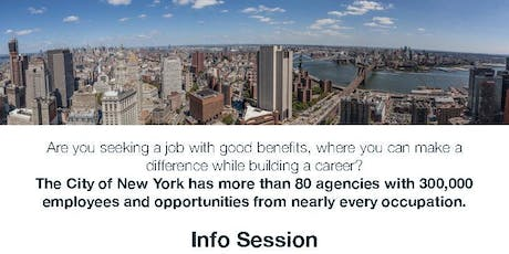 NYC Civil Service 101 Info Session tickets