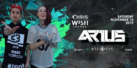 Arius | Wish Lounge IRIS ESP101 Learn to Believe | Sat Nov 16 tickets